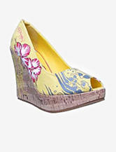 Ed Hardy Coralie Peep-Toe Wedge – Ladies