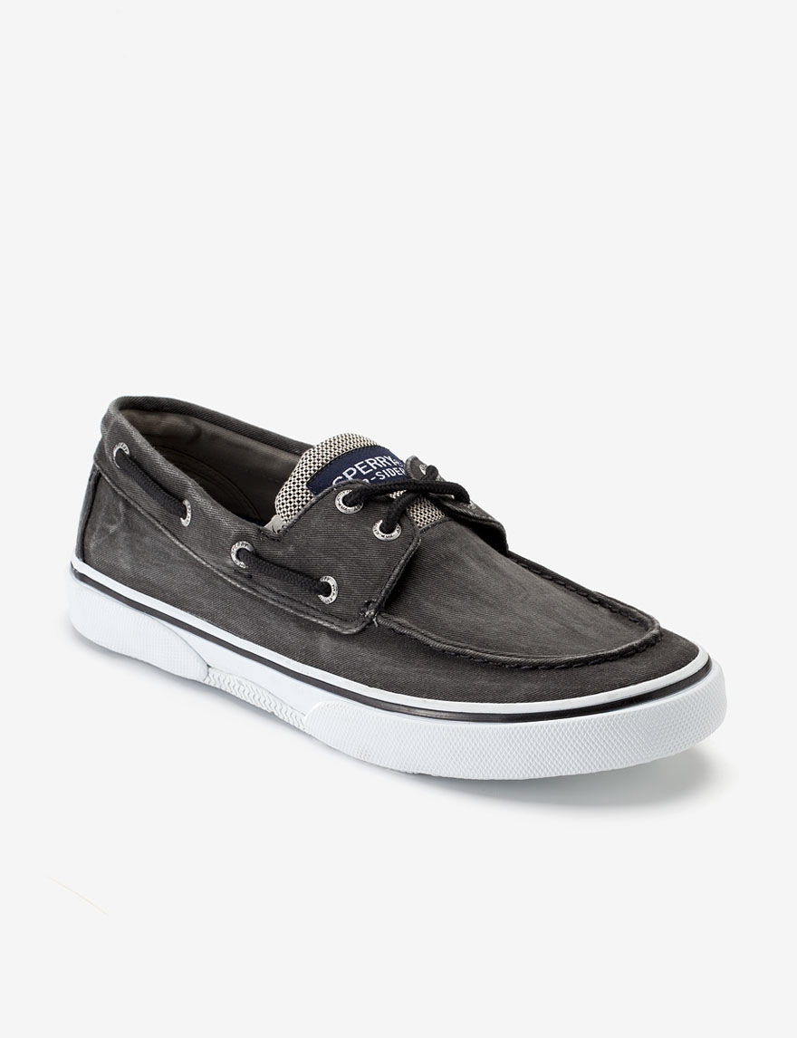 sperry halyard canvas boat shoe s stage stores