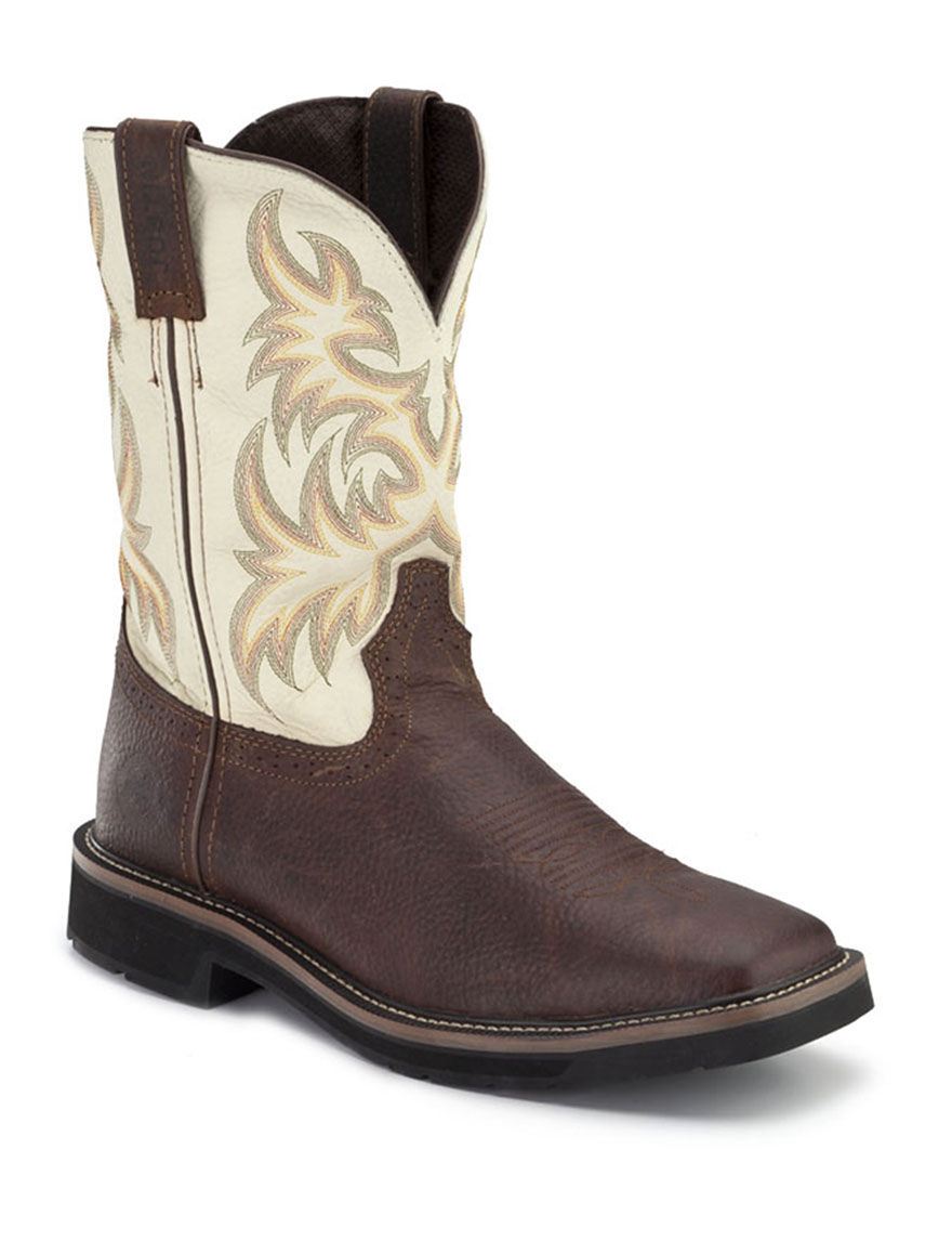 justin 174 stede square toe boots stage stores