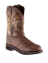 Justin® Stampede Round Toe Boots