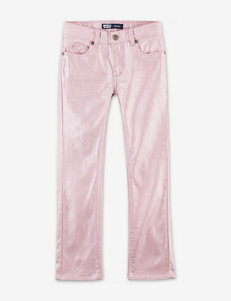 Levi's® Kinzlee Pink Skinny Shimmer Jeans – Girls 4-6x
