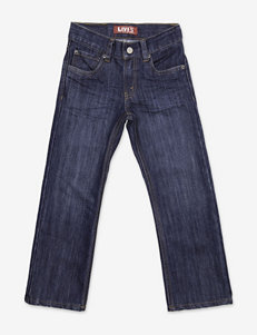 Levi's® 514™ Glare Straight Denim Blue Jeans – Boys 4-7