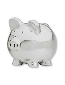 Carter's® Silver Piggy Bank