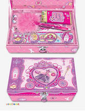 Pecoware Fancy Butterfly Trinket Box With Accessories & Lock