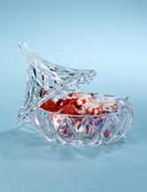 Godinger Hershey Kiss Glass Box