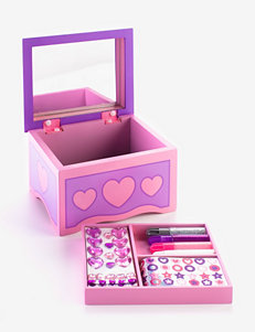 Melissa & Doug® Decorate Your Own Jewelry Box