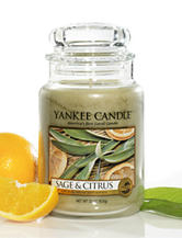 Yankee Candle® Sage & Citrus Large Jar Candle