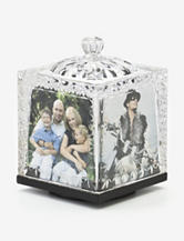 Godinger Dublin Crystal Revolving Photo Cube