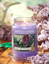Yankee Candle® Lilac Blossoms Pillar Candle