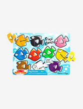 Melissa & Doug® Fish Colors Peg Puzzle