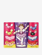 Melissa & Doug® Ballerina Dress-Up Mix 'n Match Peg Puzzle