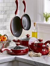 Paula Deen® Signature Porcelain 15-pc. Cookware Set