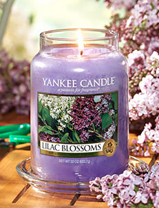 Yankee Candle® Lilac Blossoms Scented Candle
