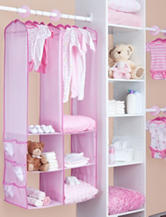 Delta Children's Products™ Hanging Closet Organizer with Shelves & Pockets
