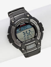 Casio Men's WS220 Solar Runner Tough Digital Watch