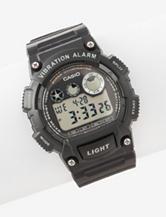 Casio Vibration Alarm Digital Rubber Strap Watch – Ladies
