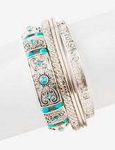 Hannah Global 5-pc. Western Bracelet Set