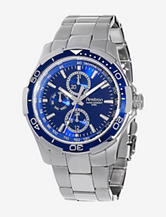 Armitron Men's Stainless Steel Multi-Function Blue Dial Sport Watch