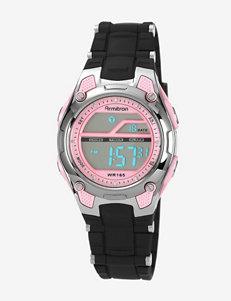 Armitron Pink & Black Chronograph Digital Sport Watch – Ladies