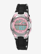 Armitron Pink & Black Chronograph Digital Sport Watch – Ladies