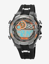Armitron Sport Men's Chronograph Black Strap Digital Display Watch