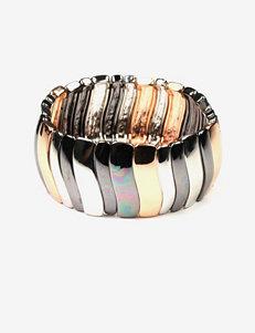Nine West Multicolored Metal Stretch Bracelet