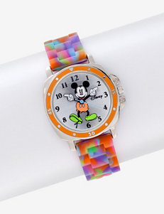 Disney Mickey Mouse Tie Dye Moving Hands Watch – Ladies