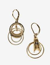 Anne Klein Double Drop Earrings