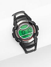 Armitron Sport Digital Chronograph Black Resin Strap Watch