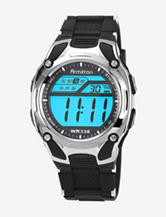 Armitron Men's Chronograph Black Strap Digital Display Sport Watch