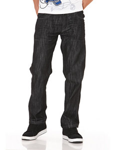 Southpole Dark Wash Straight Jeans