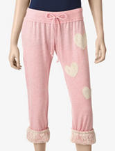 Miss Chievous Lace Appliqué Capris – Juniors