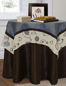Lush Decor Royal Garden 2-pc. Blue Tablecloth Set