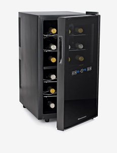 Wine Enthusiast 18-Bottle Dual Zone Touchscreen Wine Refrigerator