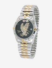 Black Hills Gold Two Tone Eagle Watch – Men's