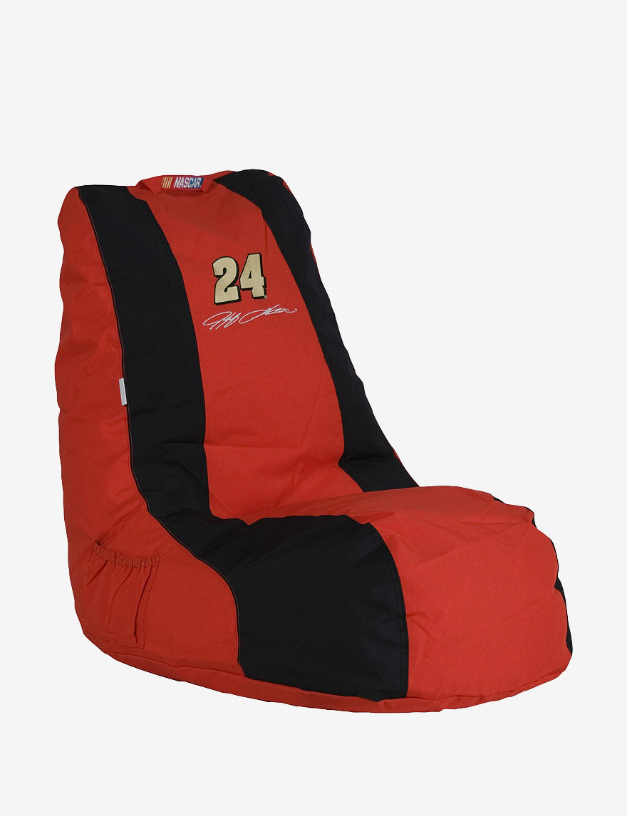 Ace Jeff Gordon #24 NASCAR Gaming Bean Bag Chair - Red & Black - - ACE by Ace Bayou