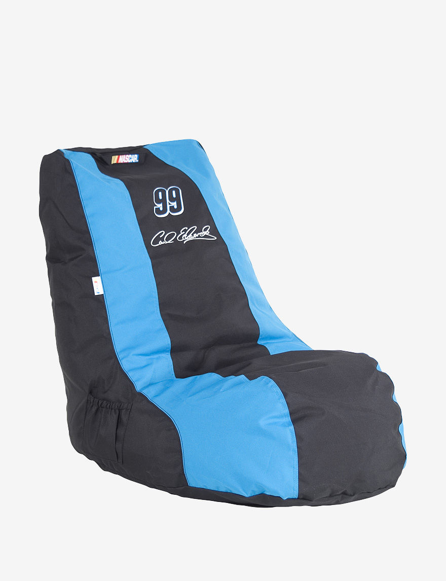Ace Carl Edwards #99 NASCAR Gaming Bean Bag Chair - Black & Blue - - ACE by Ace Bayou