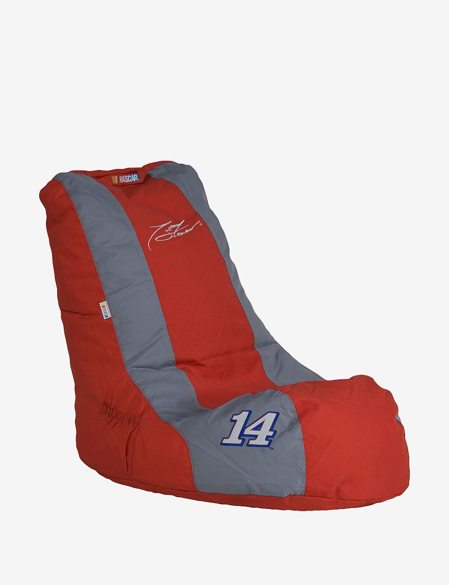Ace Tony Stewart #14 NASCAR Gaming Bean Bag Chair Red & Grey - - ACE by Ace Bayou