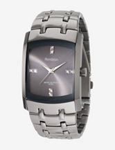 Armitron Men's Dark Silver Tone Stainless Steel Watch
