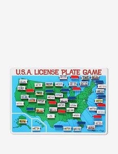 Melissa & Doug U.S.A. License Plate Game