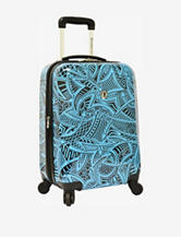 Traveler's Choice 21' Hard-side Carry-On Spinner Luggage