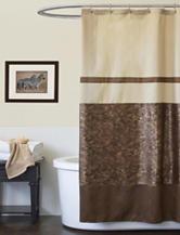 Lush Decor Croco Shower Curtain