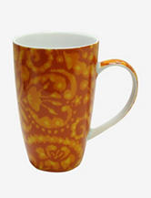Dena Home 4-pc. Orange Ikat Mug Set
