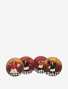 Certified International Bistro 4-pc. Soup / Pasta Bowl Set