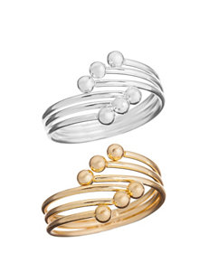 Wishful Park Two Tone Rings Fashion Jewelry