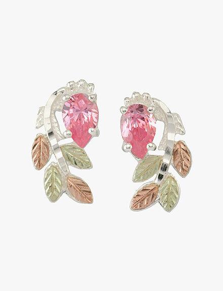 Black Hills Gold  Studs Earrings Fine Jewelry