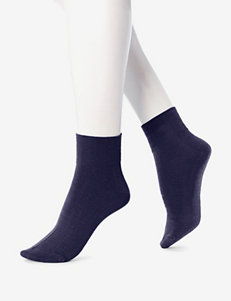 Hue Black Socks