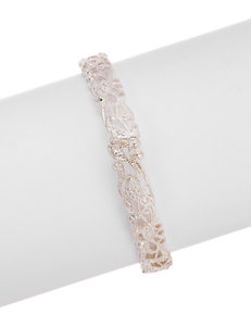 Via Roma Clear Bracelets Fashion Jewelry