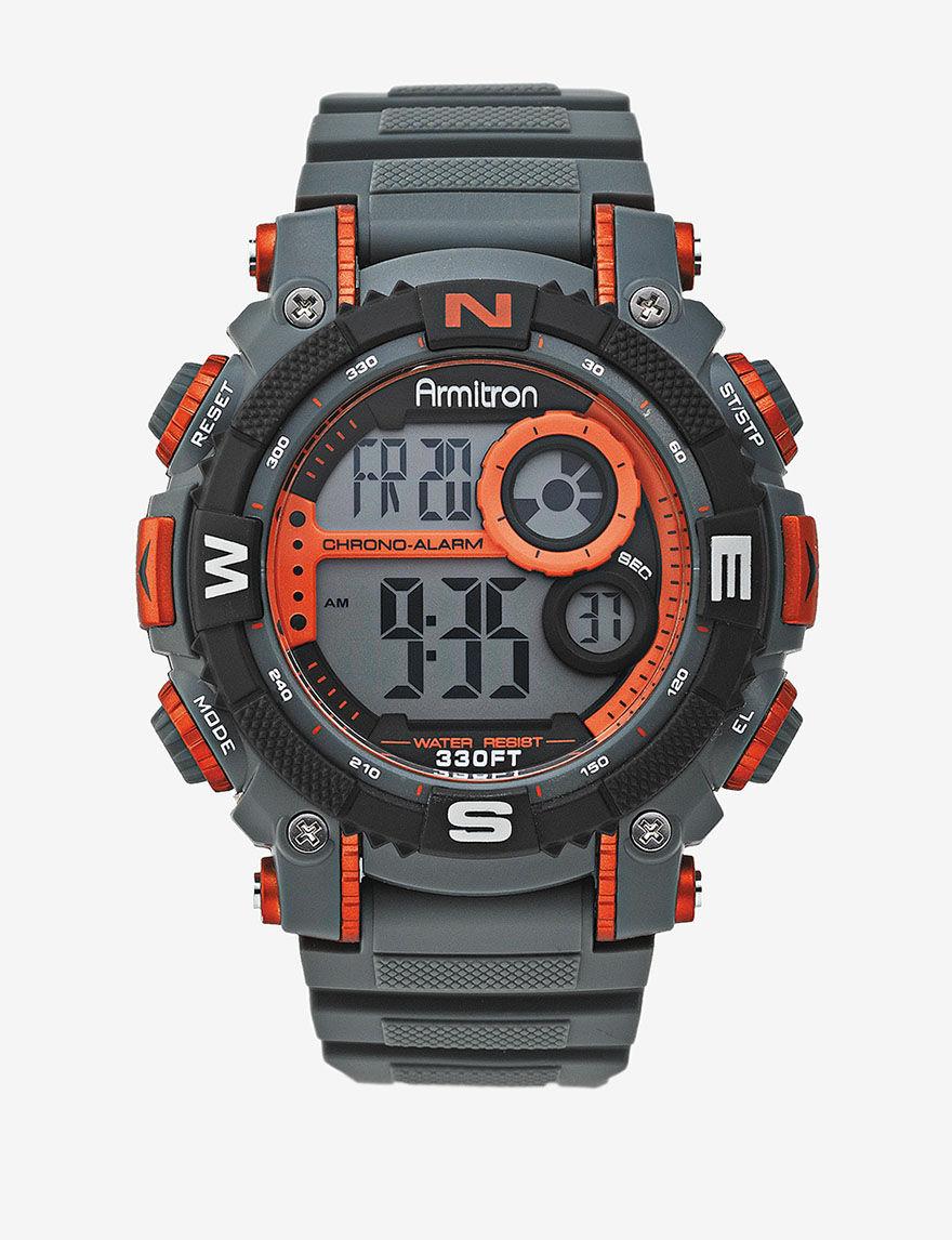 Armitron Black Sport Watches