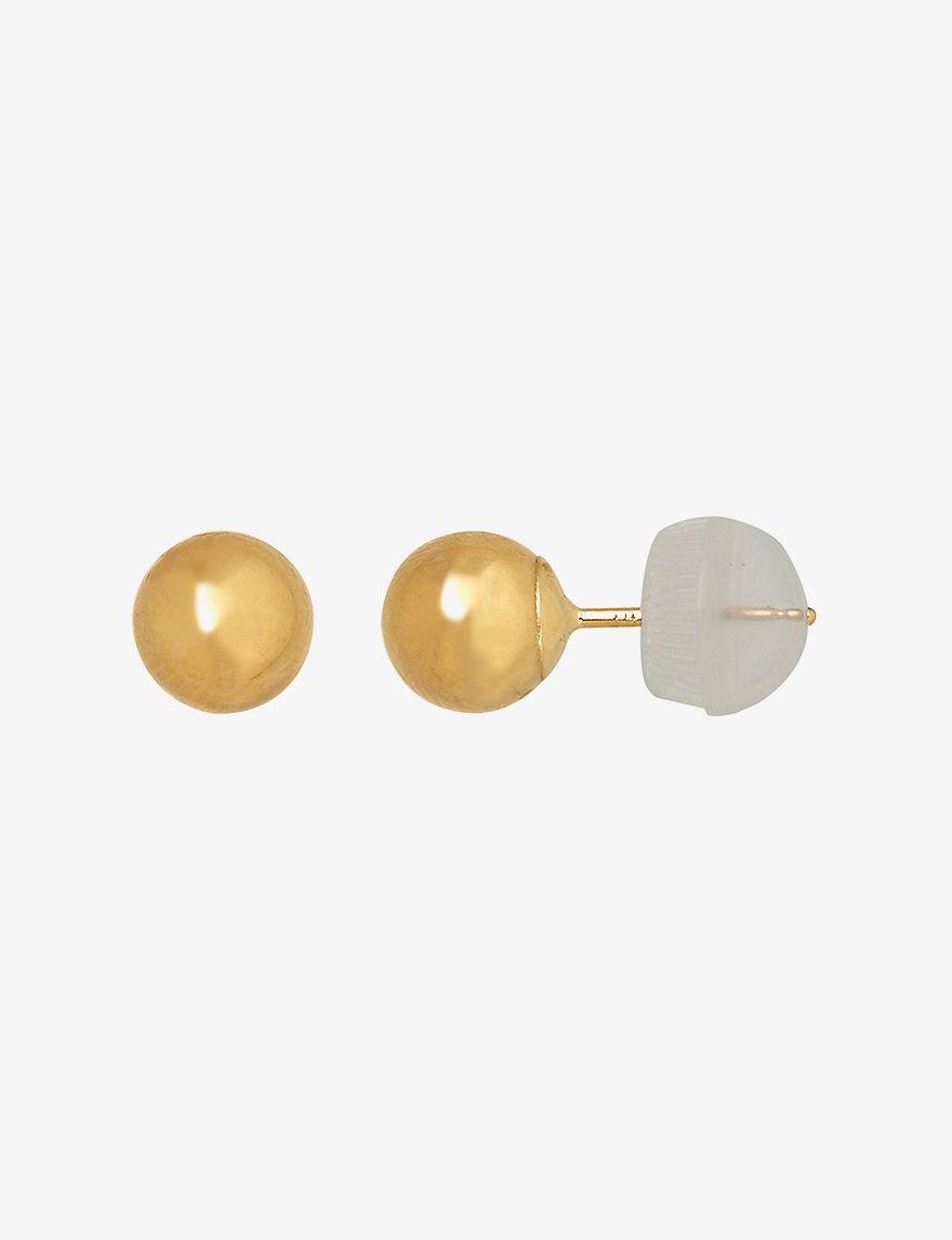 Aurafin Oro America  Studs Earrings Fine Jewelry